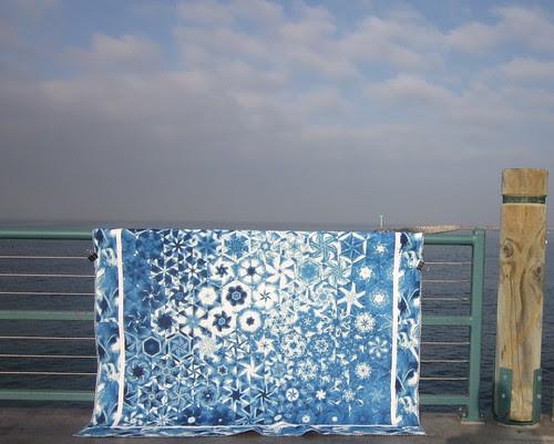Blue OBW at pier