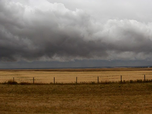 HPIM1893-Storm Along Canada Hwy 4 Between Lethbridge and US Border