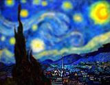 Van Gogh Tilt Shift Serena Malyon