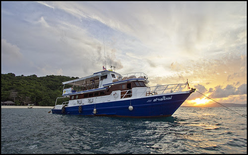 MV Sai Mai - Sunset at Coral Island Phuket