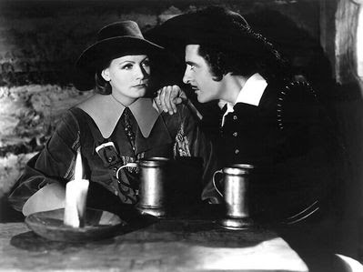 Garbo and Gilbert in Queen Christina