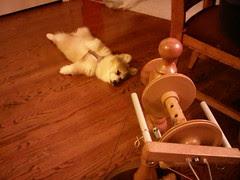 Zee spinning wheel, it puts me to sleep...