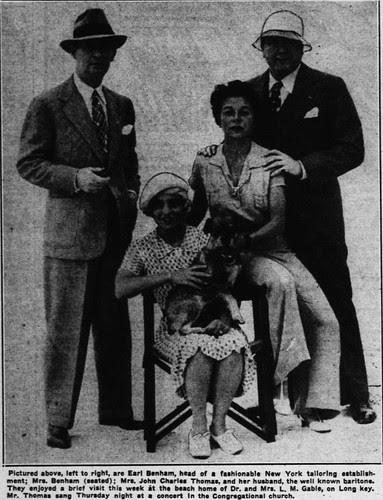 Earl Benham (Evening Independent Feb 6 1937)