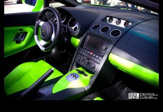 Car Interior Green