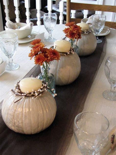 White Pumpkins centerpieces   fall wedding shower