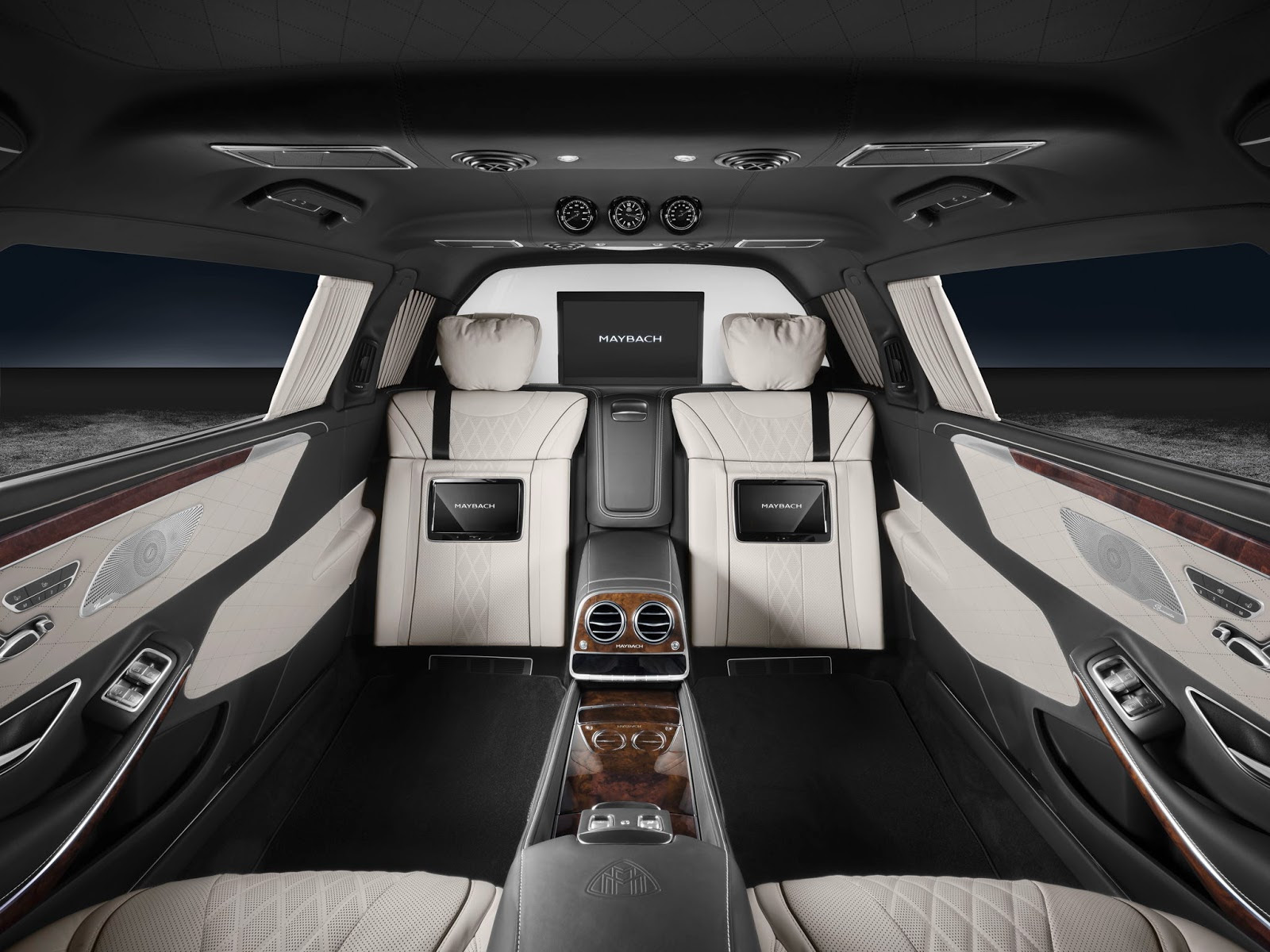 Mercedes-Maybach S600 Pullman Guard Is Extremely Bullet Proof ...
