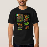 Teddy Bear St. Patrick's Day Collection Tee Shirt