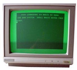 Monitor Commodore DM602