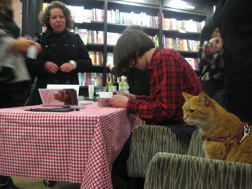 James & Bob at Book Signing