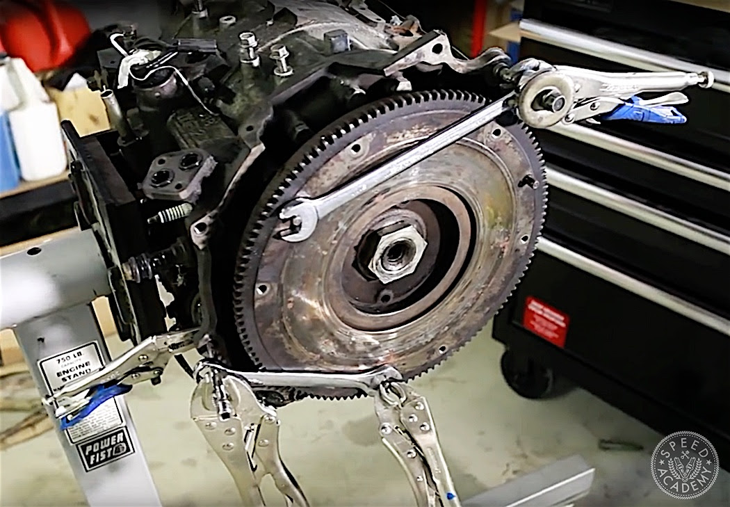 Rotary Engine Teardown We Prepare A Spare Block For More Brappness Speed Academy