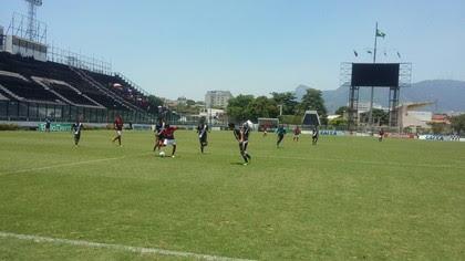 Vasco x Flamengo final Taça Rio Sub-17 (Foto: Reprodução)