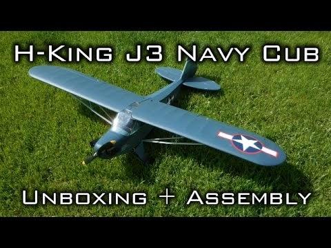 StatiK RC: H-King J3 Navy Cub (NE-1) 1400mm (PnP) Complete Build