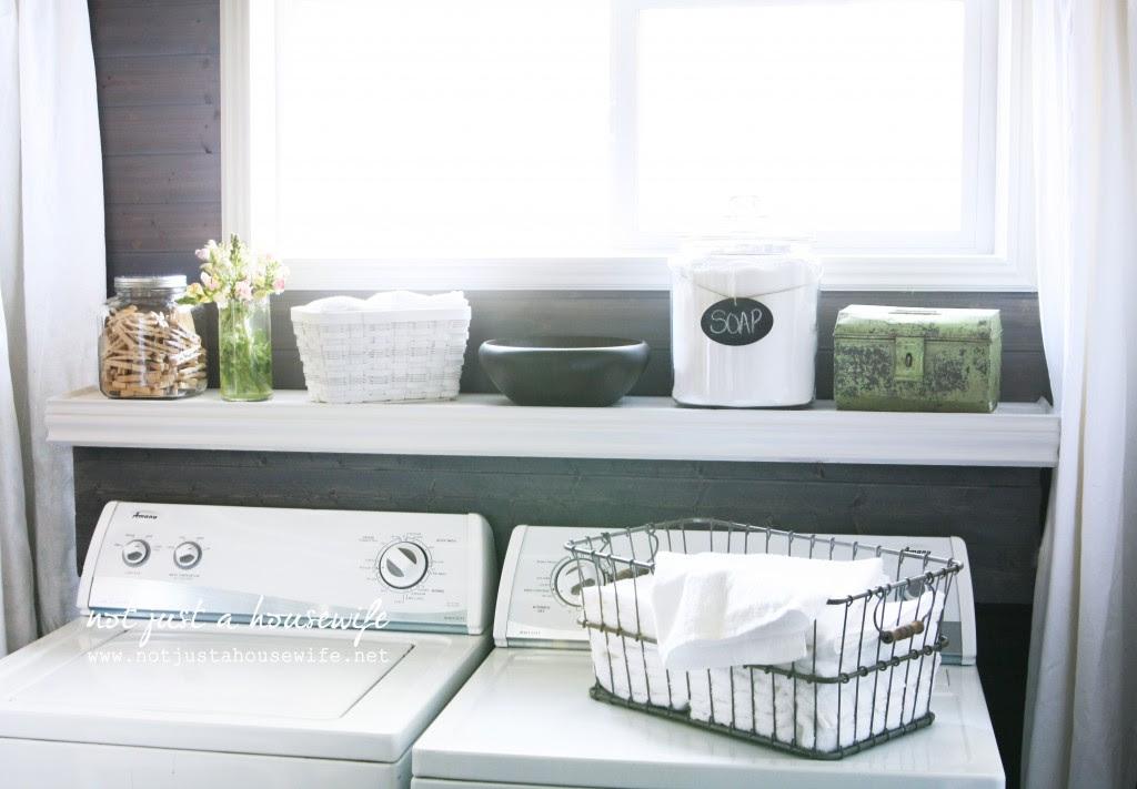 laundry room shelf