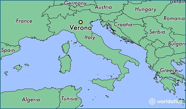 Αποτέλεσμα εικόνας για verona italy map
