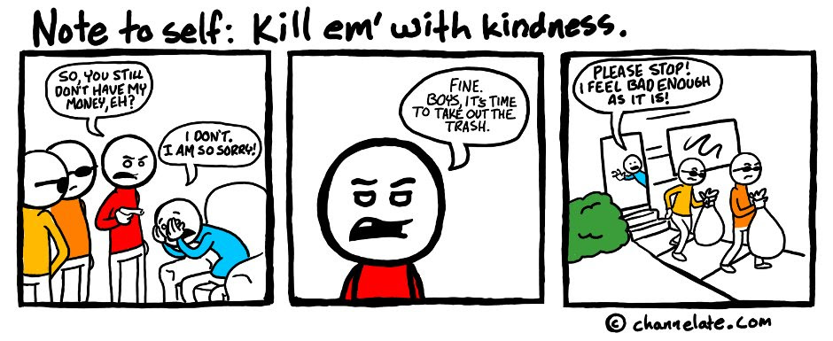 Kill With Kindness Channelate