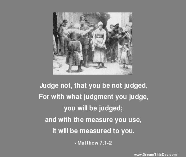 Daily Inspiration Daily Quotes Resist The Temptation To Judge Others