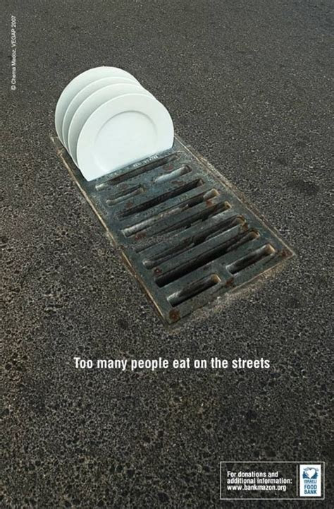 poster kreatif kampanye donasi bagi gelandangan