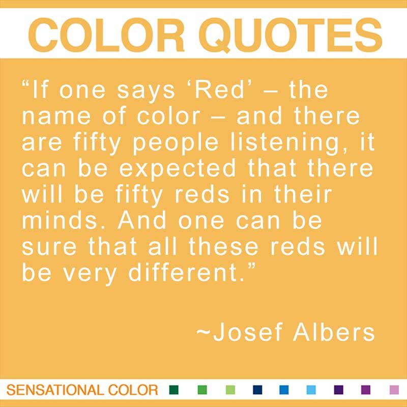 Quotes About Color By Josef Albers Sensational Color