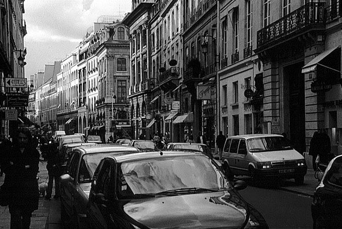 Photos Paris In Black And White