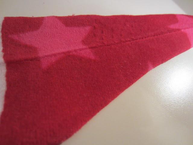 velour ironed