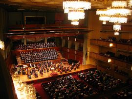The National Symphony Orchestra and Master Chorale of Washington at the Kennedy Center