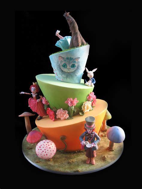 Awe Inspiring Mad Hatter Cakes