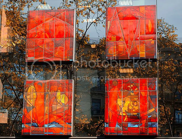 Artistic Office Building- Carrer Londres 106 - Barcelona [enlarge]