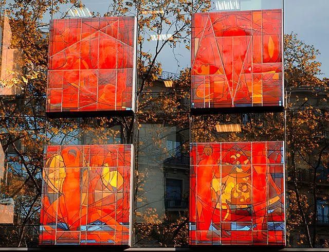 Artistic Office Building- Carrer Londres 106 - Barcelona [enlarge]