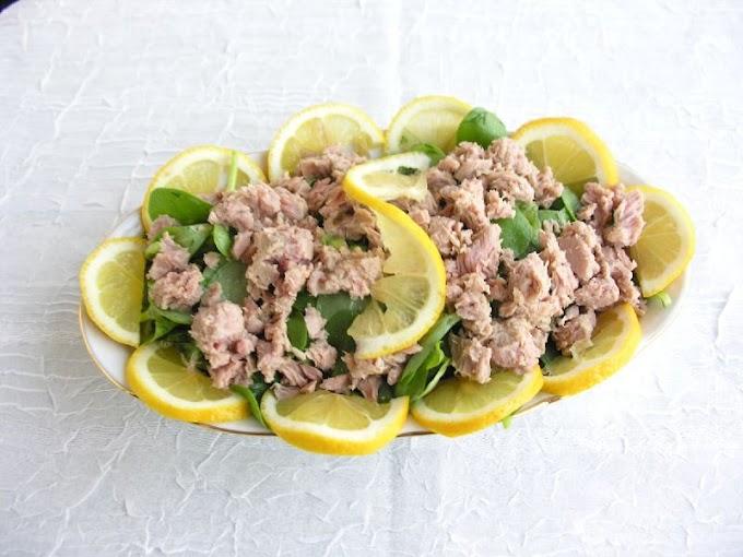 Ton Balıklı Semizotu Salatası