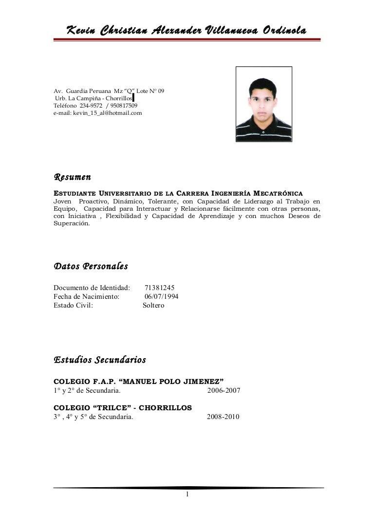 Encantador Currículum De La Estudiante De Belleza Festooning ...