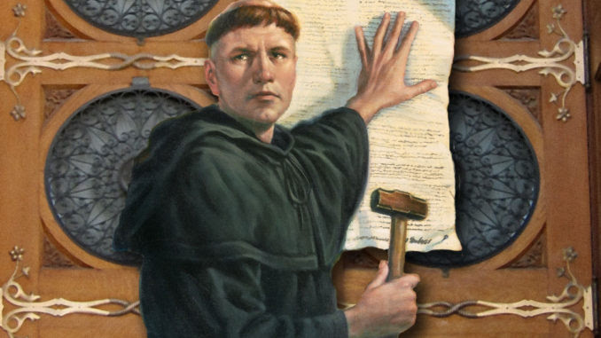 Image result for Martin Luther 1517 images