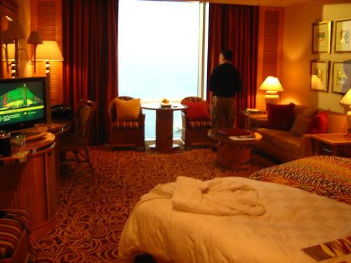 Hotel room at Jumeirah beach hotel