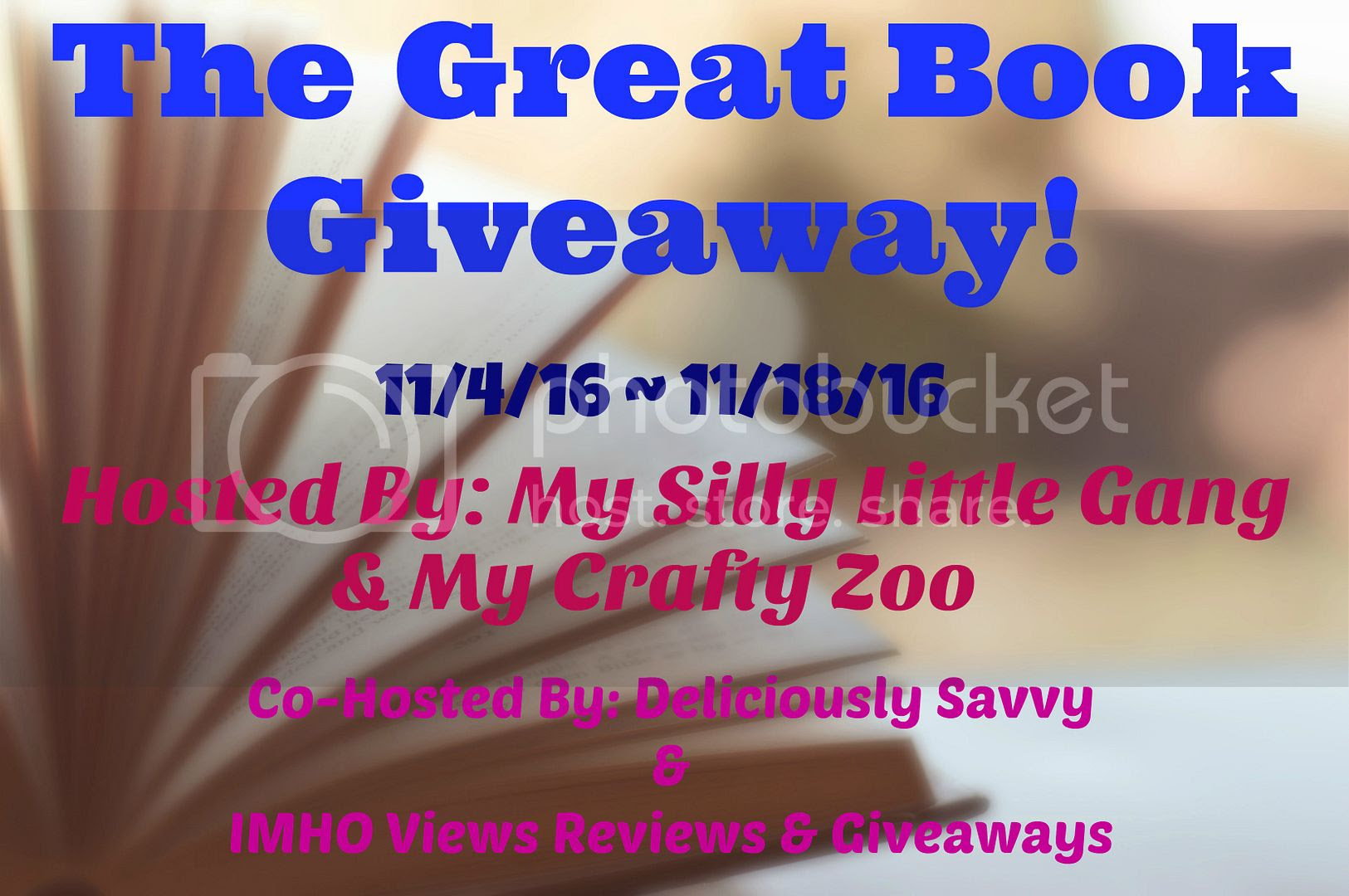 The great book giveaway