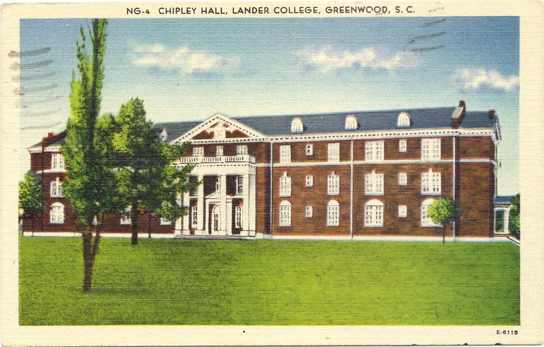 Amazon.com : 1960s Vintage Postcard - Chipley Hall - Lander ...