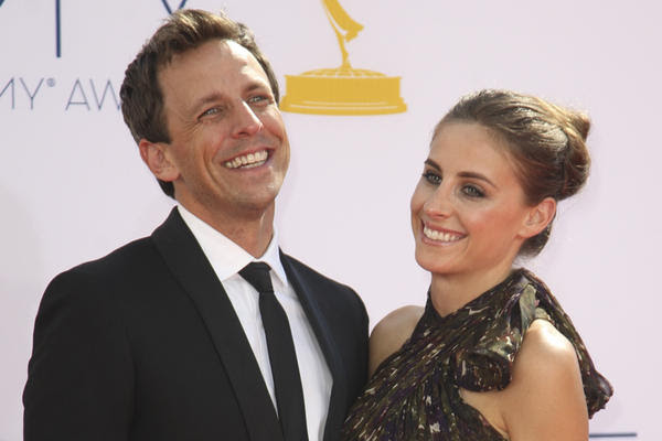 seth meyers engaged to girlfriend alexi ashe - los angeles times