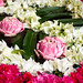 Pink and White Floral Design