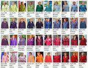 Il 'Pantone Merkel' del graphic designer Noortje van Eekelen