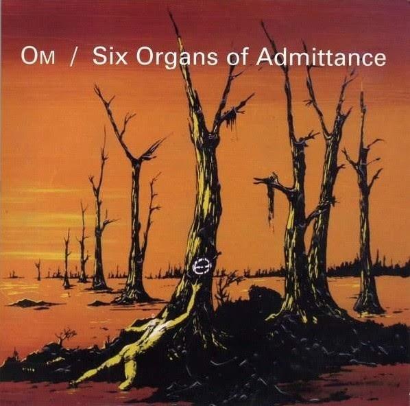 Om / Six Organs of Admittance Split Album Cover