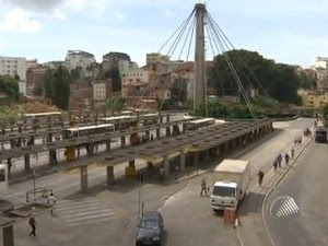 Estação da Lapa (Foto: Reprodução/ TV Bahia)