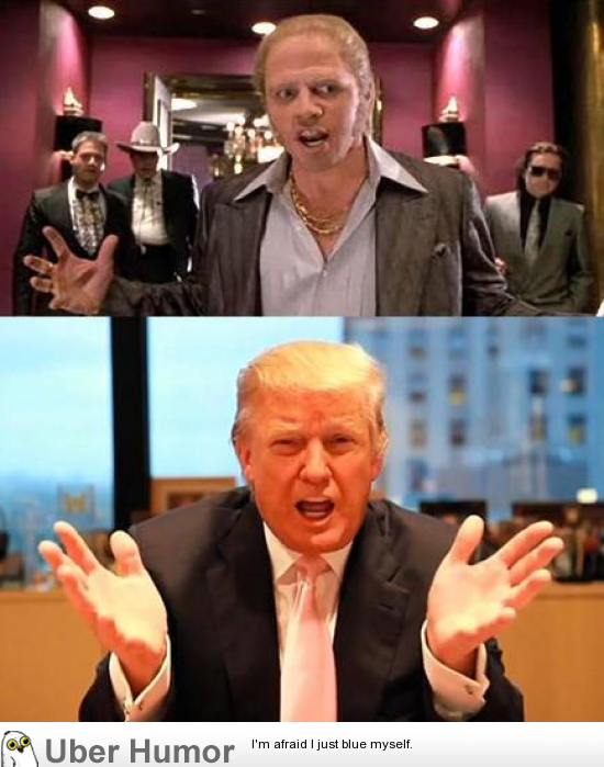 In My Mind Donald Trump Is The Same Person As The Rich Biff Tannen