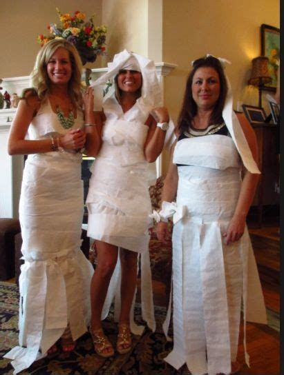 Wedding Dress design game  guests are divided in to teams