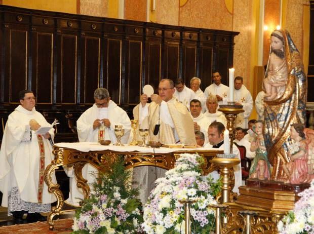 Arcebispo de Belém, Dom Taveira, celebra missa no dia 24 e 25. (Foto: Cristino Martins/ O Liberal)