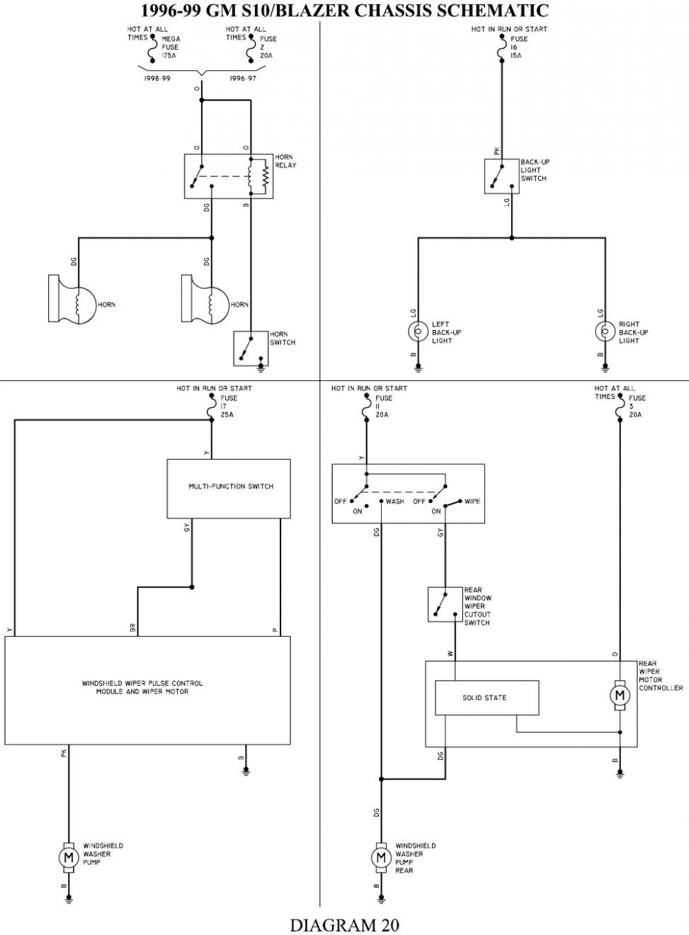 Wiring Diagram 1994 Chevy S 10 Blazer 2003 Suzuki Eiger Wiring Diagram Siosio Aja Bayau Madfish It