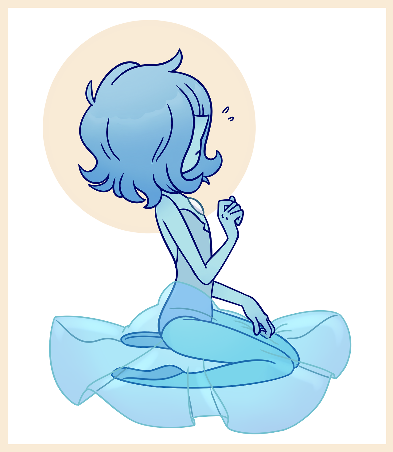 Blue Pearl! i had way more fun drawing this than i thought i was gonna have