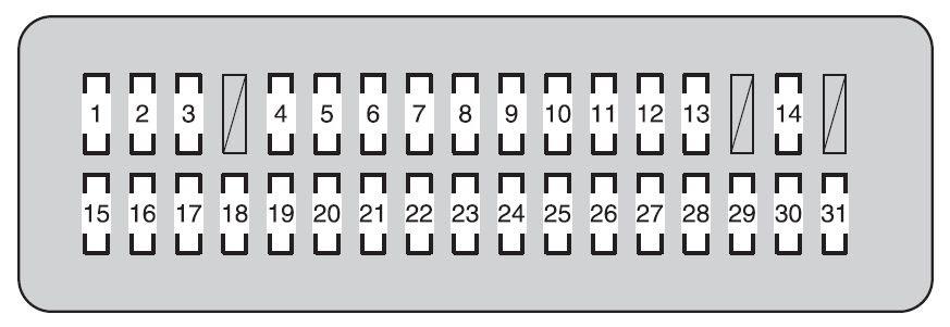 Toyota Land Cruiser 2010 2011 Fuse Box Diagram Auto Genius