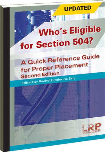 Who's Eligible for Section 504? A Quick-Reference Guide ...