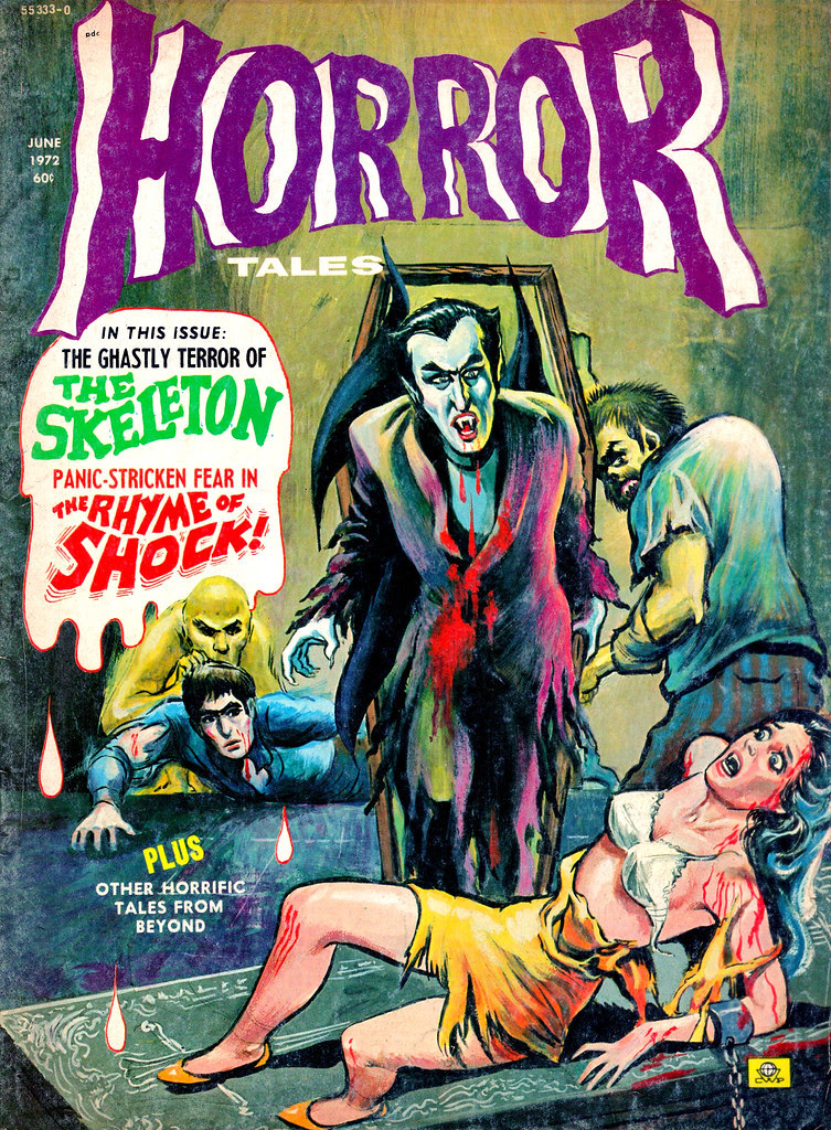 Horror Tales - Vol. 4 #4 (Eerie Publications, 1972)