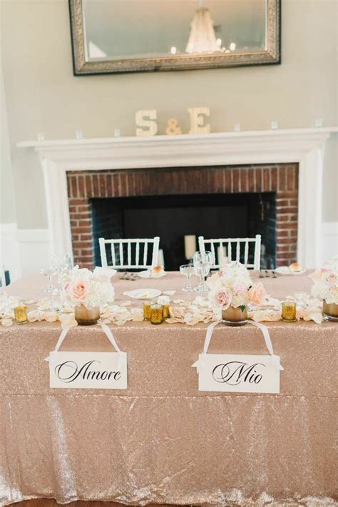 Soft Pink and Gold New York Wedding at Highlands Country
