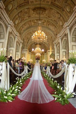 Viena & Justine: San Augustine Church, Philippines   Aisle