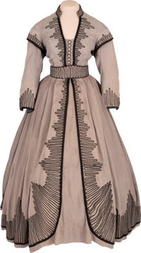 "Movie/TV Memorabilia:Costumes, A Vivien Leigh Period Dress from ""Gone With The Wind.""..."